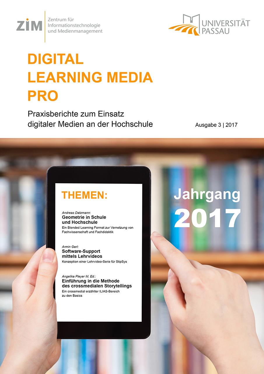 Ansehen Nr. 3 (2017): DLMP Praxisberichte 2017