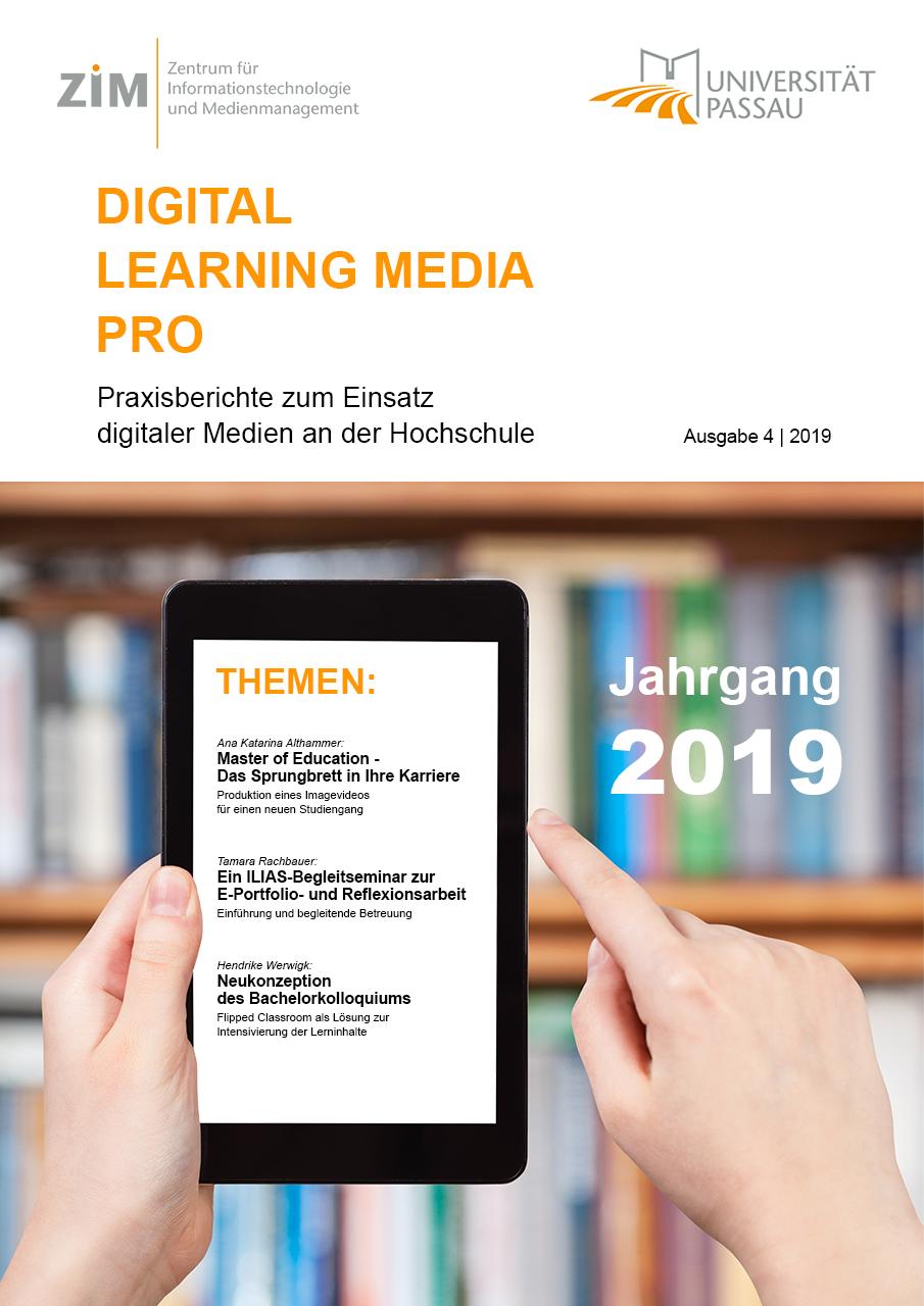 Ansehen Nr. 4 (2019): DLMP Praxisberichte 2019