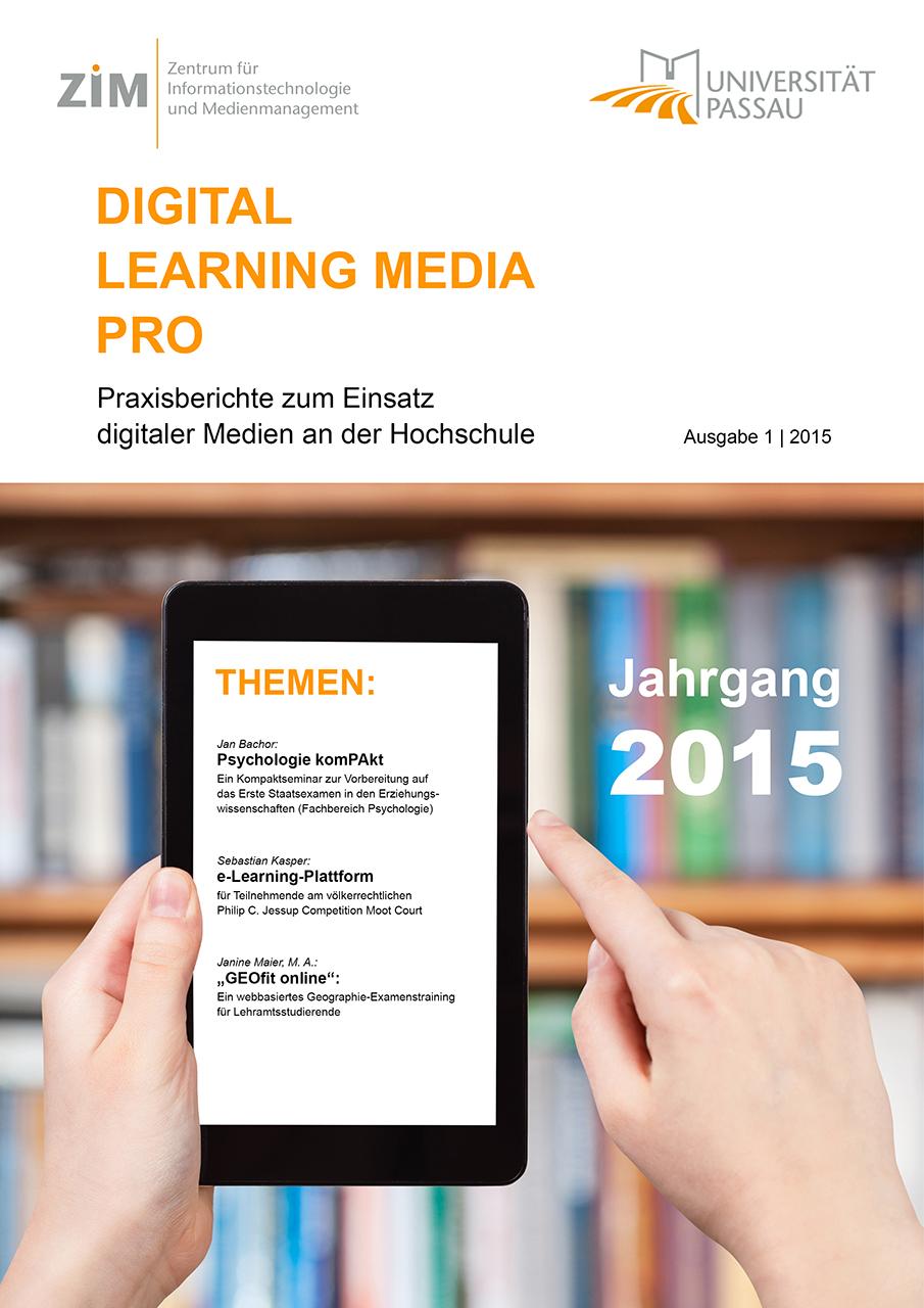 Cover Bild Digital Learning Media Pro Ausgabe 2015